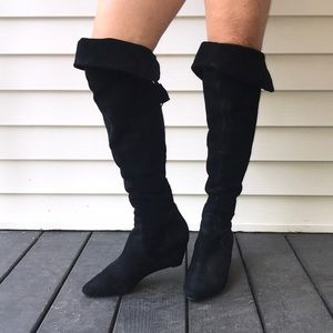Juicy Couture Suede Over the Knee Boots!